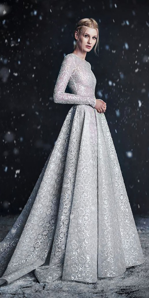 Paolo Sebastian Wedding Dress // Alicia Vikander Wedding Ideas // SHEER EVER AFTER WEDDINGS