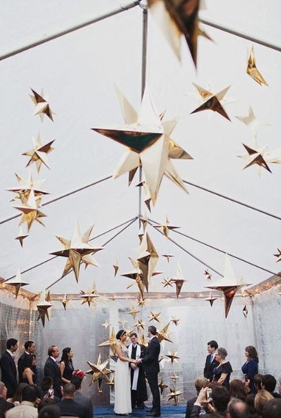 celestial star decor