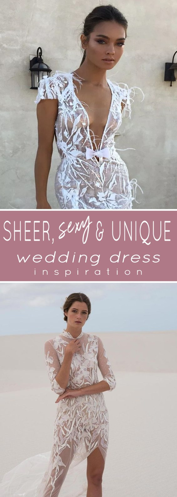 ALL THE BEST SHEER WEDDING DRESS INSPIRATION YOU CAN DREAM OF