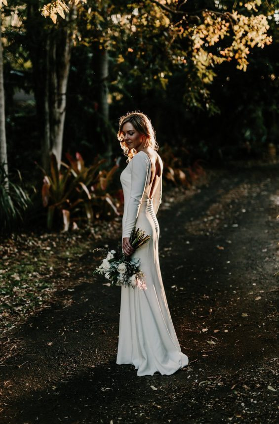 You will channel your inner Meghan Markle in one of these romantic minimalist wedding dresses | www.SheerEverAfter.com