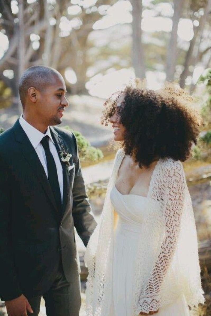 You'll adore these gorgeous natural hair styles for your wedding day   This and more at www.SheerEverAfter.com