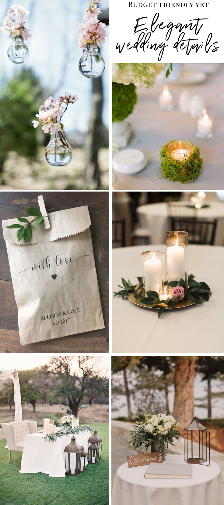 We tell you the details you can skip if you want true elegance at your wedding | This and more at www.SheerEverAfter.com
