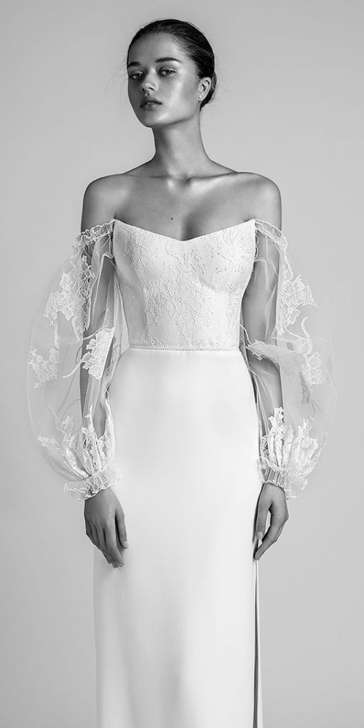 These non-cookie-cutter wedding dresses are perfect if you crave an original Bridal look | This and more at www.SheerEverAfter.com
