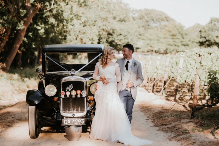 The DIY at Mark & Jo's stunning Cape Town wedding will amaze you | More from this wedding at www.SheerEverAfter.com