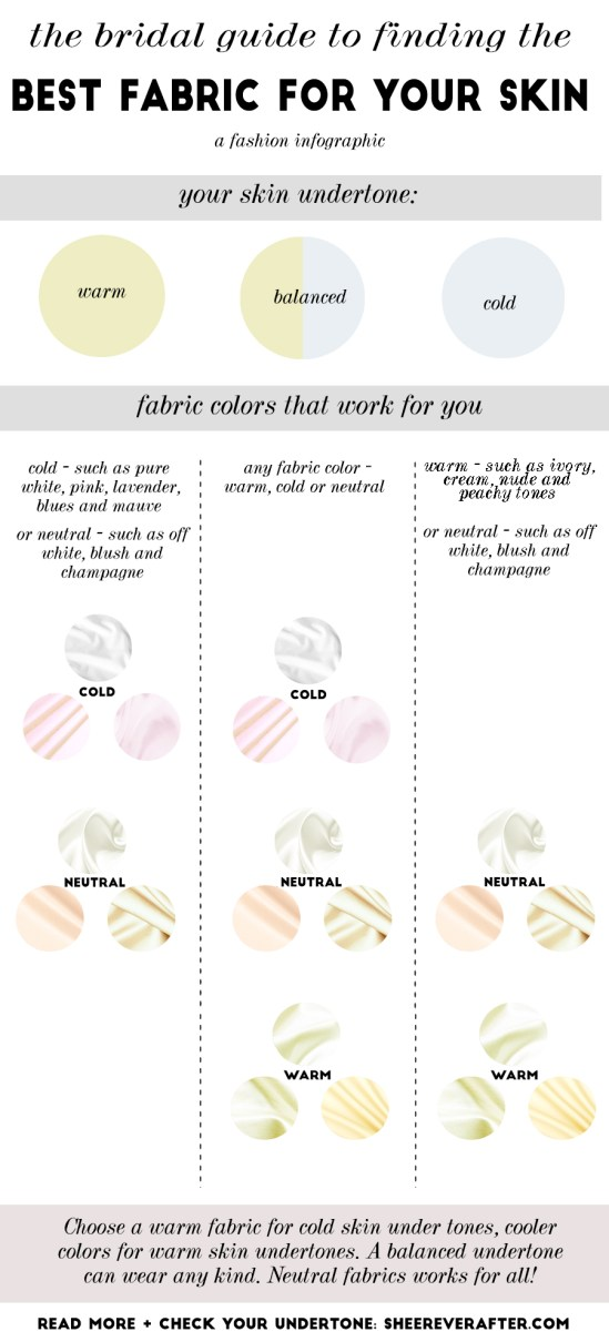 Find out which wedding dress color suits you best | Sheer Ever After | Your online maid of honor