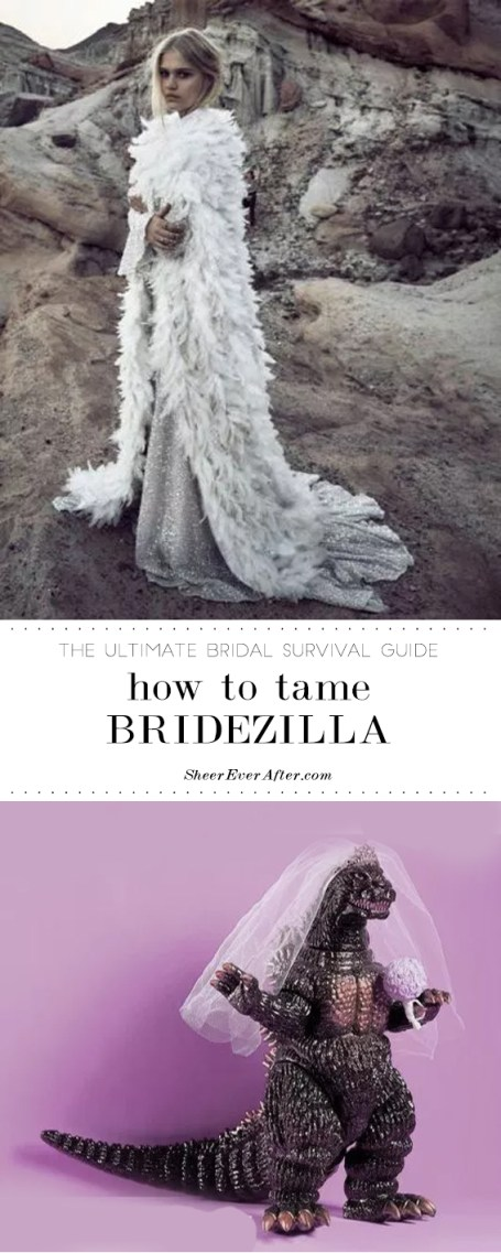 Brides - see this as the only bridezilla support line you need | Sheer Ever After | Your online maid of honor