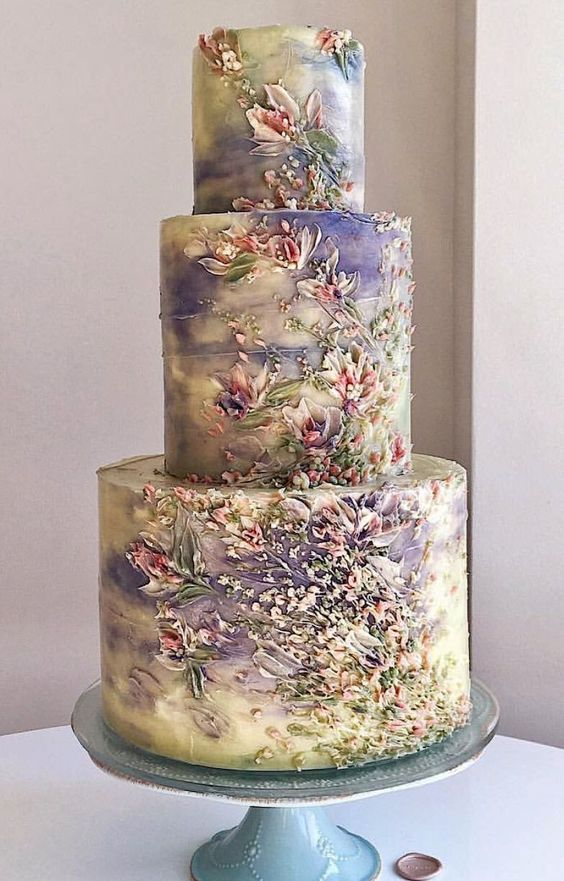 This cake trend is going to rule in 2019 | Sheer Ever After | Your Online Maid of Honor