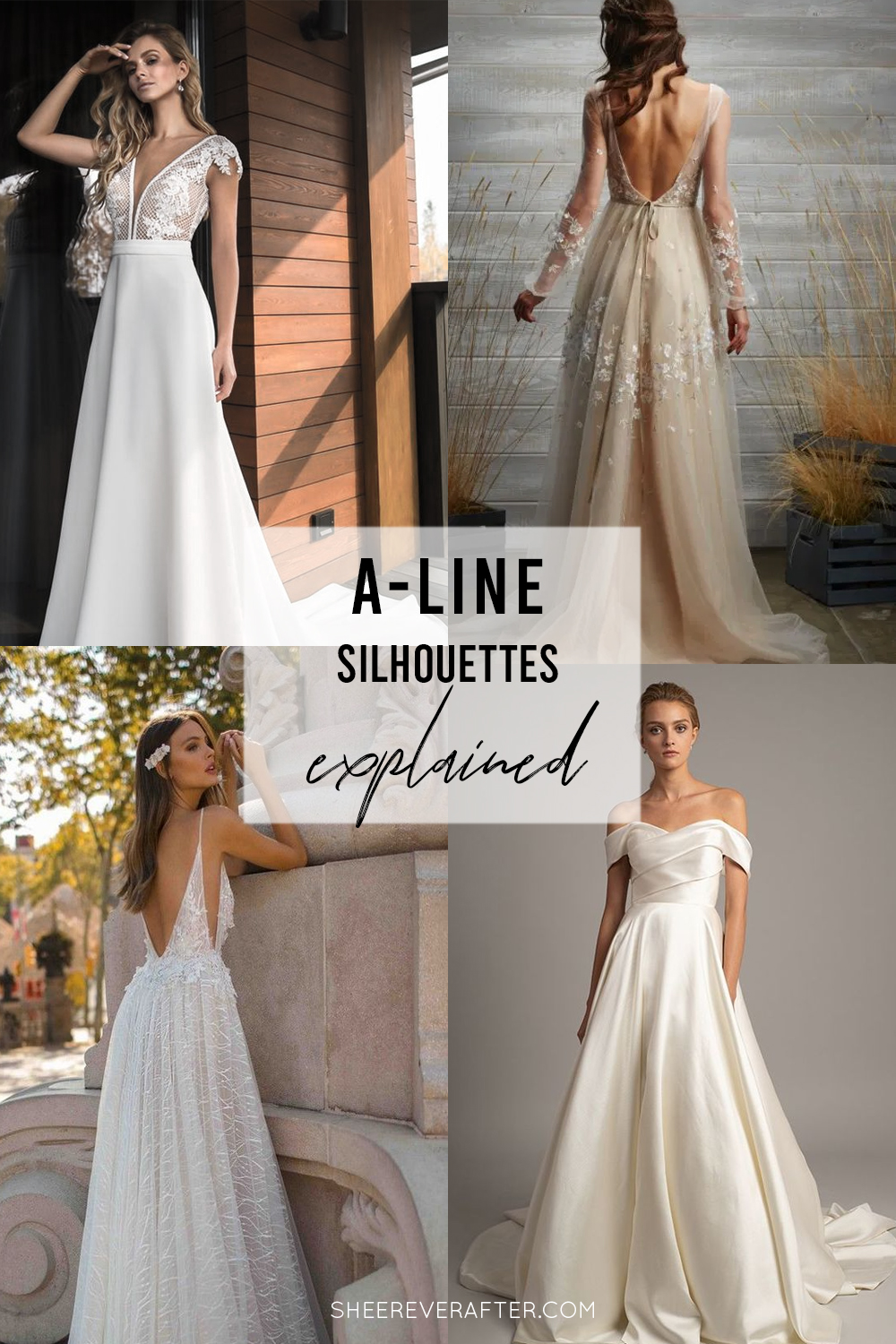 #weddingdress #weddingdresssilhouettes #bridalgown #bridal #weddingday #weddingideas #beautifuldress