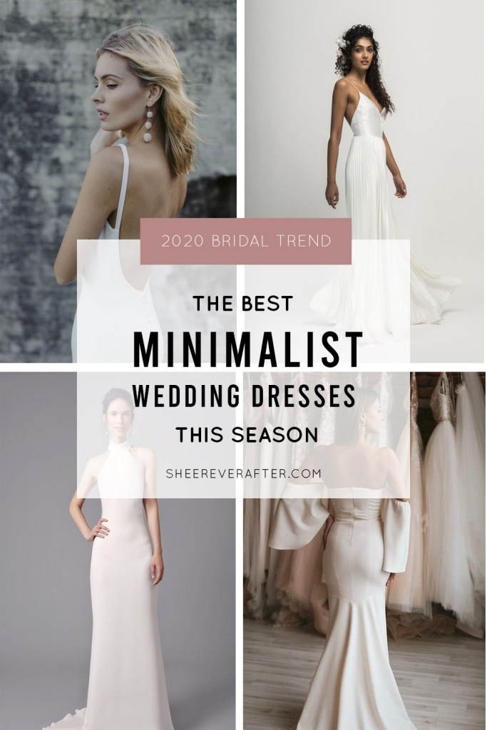 #minimalistdress #bridal #simpleweddingdress #wedding #weddingday #bride #weddingdress