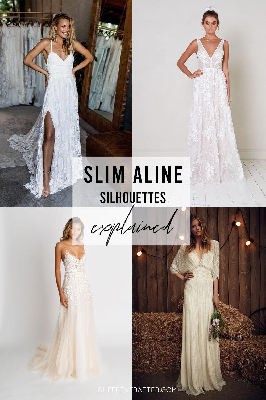#weddingdress #weddingdresssilhouettes #bridalgown #bridal #weddingday #weddingideas #beautifuldress #aline
