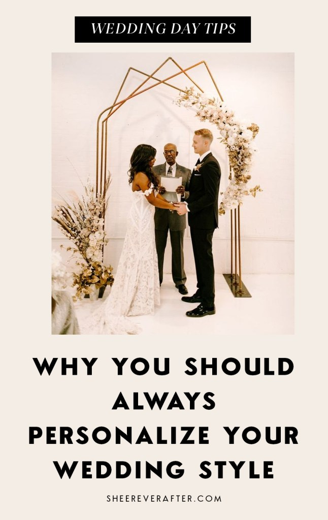 Whether you want to plan an nontraditional wedding or add unique personal touches, these modern wedding ideas are inspiring for anyone who loves unique and chic weddings