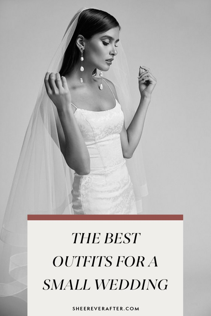 We have listed some beautiful dress options for your small wedding ceremony, plus tips on how to style a look which is appropriate for a covid-wedding. The bottom line: the pandemic doesn't mean you have to miss out on great wedding style!