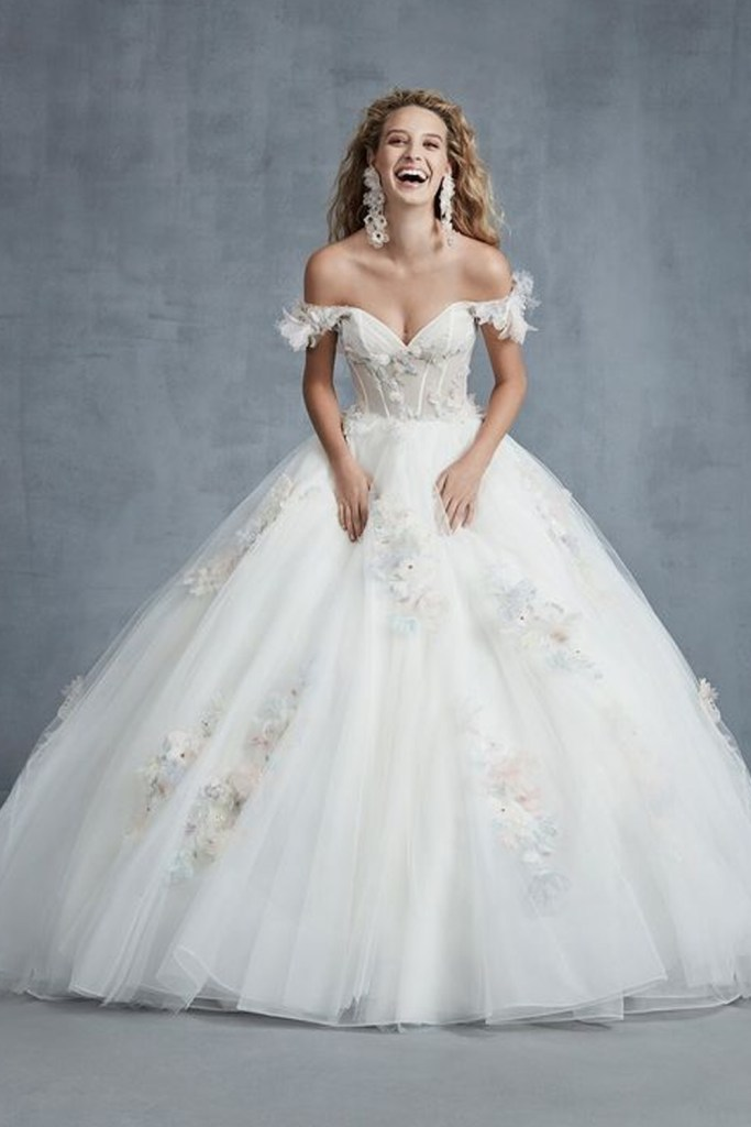 New wedding dress from the Ines Di Santo Fall 2021 collection.