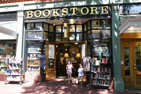bookstore with kids
