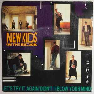 Download new kids on the block lets try it again rock sheet music pdf