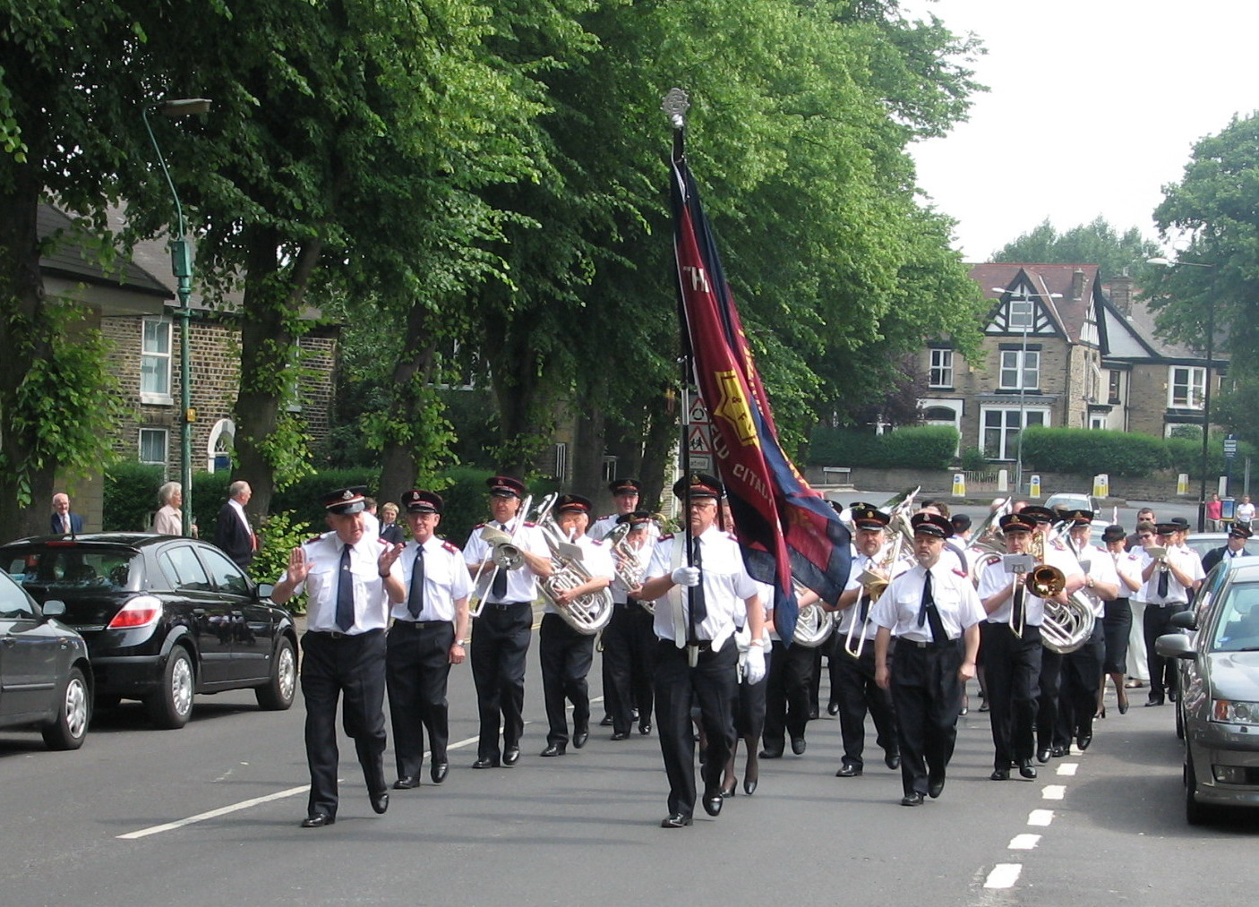 SCB on the march