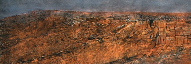 17. Towards Stanage collagraph