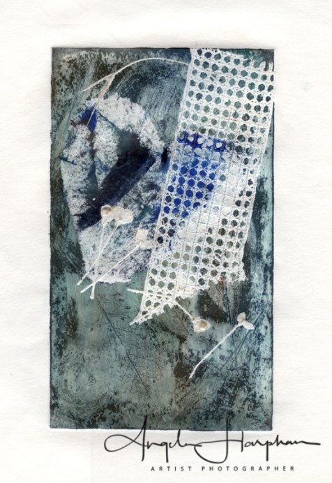 Fleeting: Soft Ground Etching with embossing
