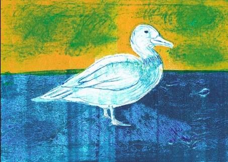 Mair Richards - duck