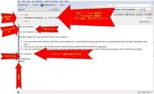 English Email format