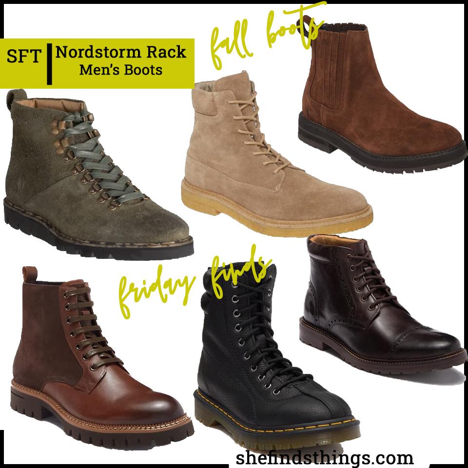 Nordstrom Rack Men's Fall/Winter Boots