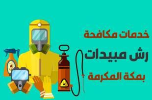 شركة رش مبيدات بمكة