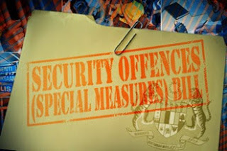 Security Offences (Special Measures) Act 2012, (SOSMA Act 2012)