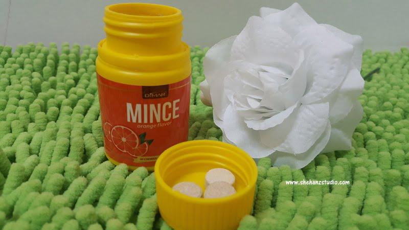 mince gula-gula kurus cool rose gel dimar