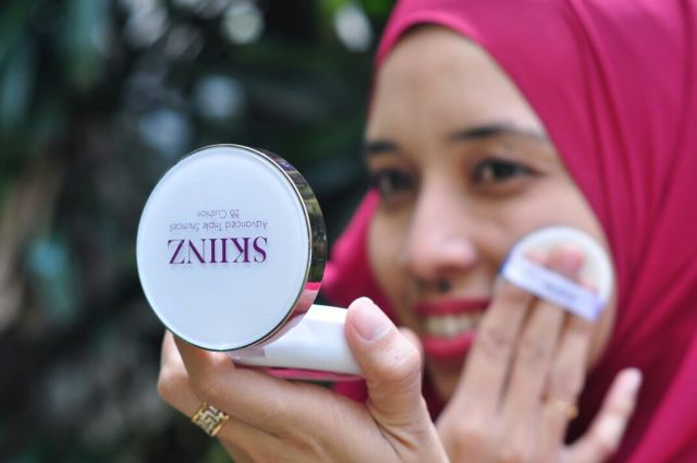 CARA MAKEUP FLAWLESS DENGAN SKIINZ ADVANCED TRIPLE STEMCELL BB CUSHION FOUNDATION (4)
