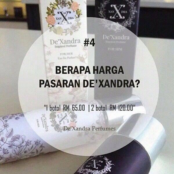 PERFUME BAJET TETAPI TAHAN LAMA BAUNYA! PERFUME DEXANDRA - 12