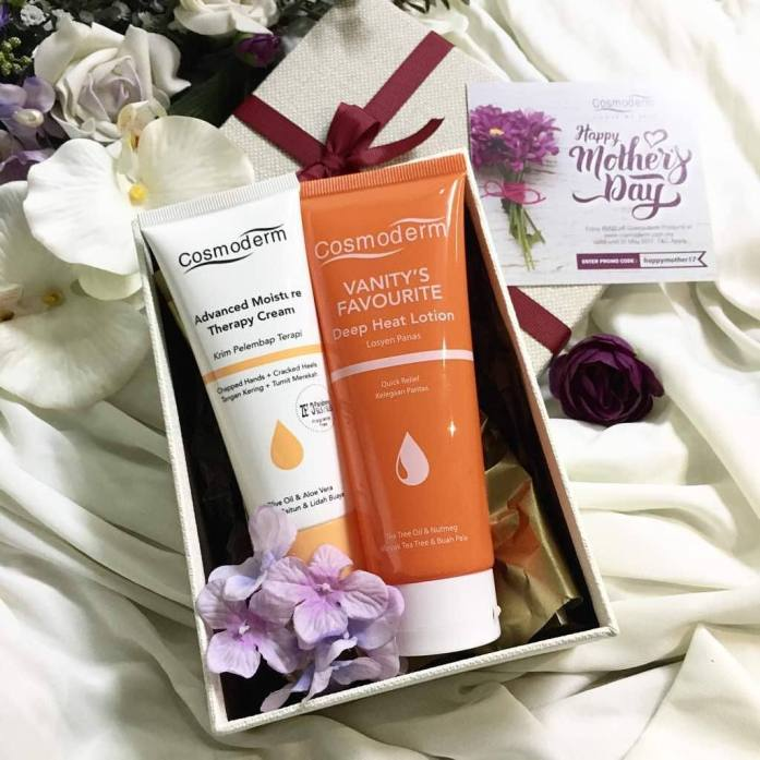 IDEA HADIAH HARI IBU COSMODERM GIFT SET FOR MOTHERS DAY - Active Mom Set