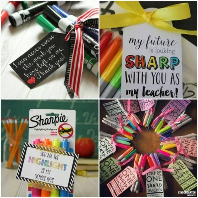 idea hadiah hari guru 2017 - sharpie, marker