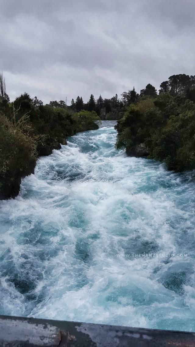 KEMBARA #KBBA9 COSMODERM – IKHLAS TOURS KE NEW ZEALAND HUKA FALLS, TAUPO.. KAMI DATANG (PART 6) (1)