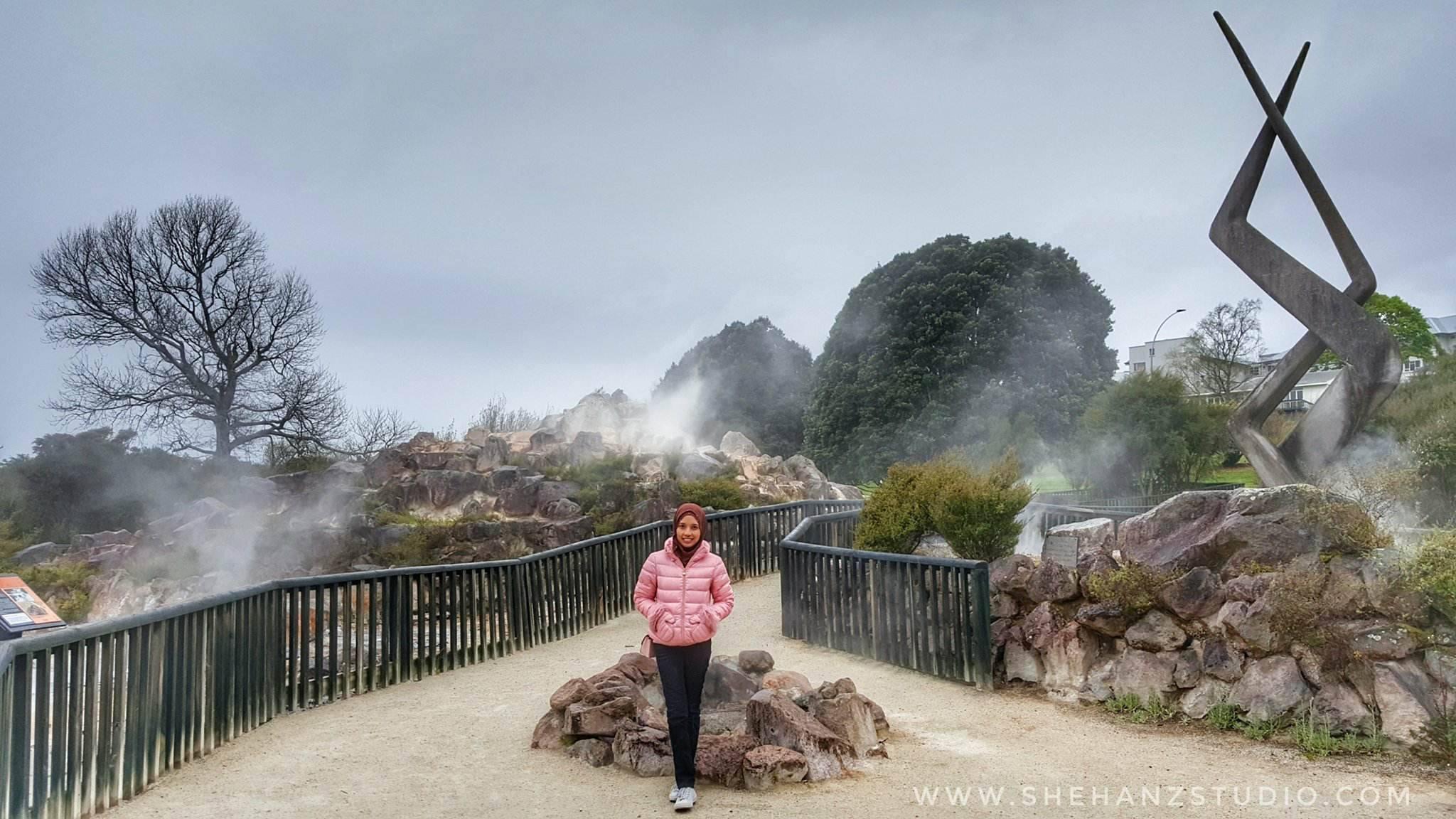 KEMBARA #KBBA9 COSMODERM - IKHLAS TOURS KE NEW ZEALAND BLUE LAKE, TARAWERA, AGRODOME AT ROTORUA (SPRING TIME) (PART 5) (7)