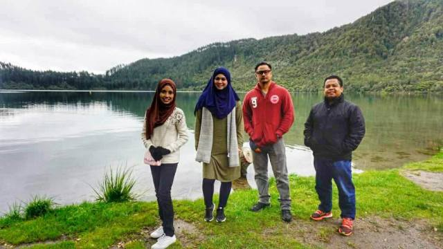 KEMBARA #KBBA9 COSMODERM - IKHLAS TOURS KE NEW ZEALAND BLUE LAKE, TARAWERA, AGRODOME AT ROTORUA (SPRING TIME) (PART 5) (3)