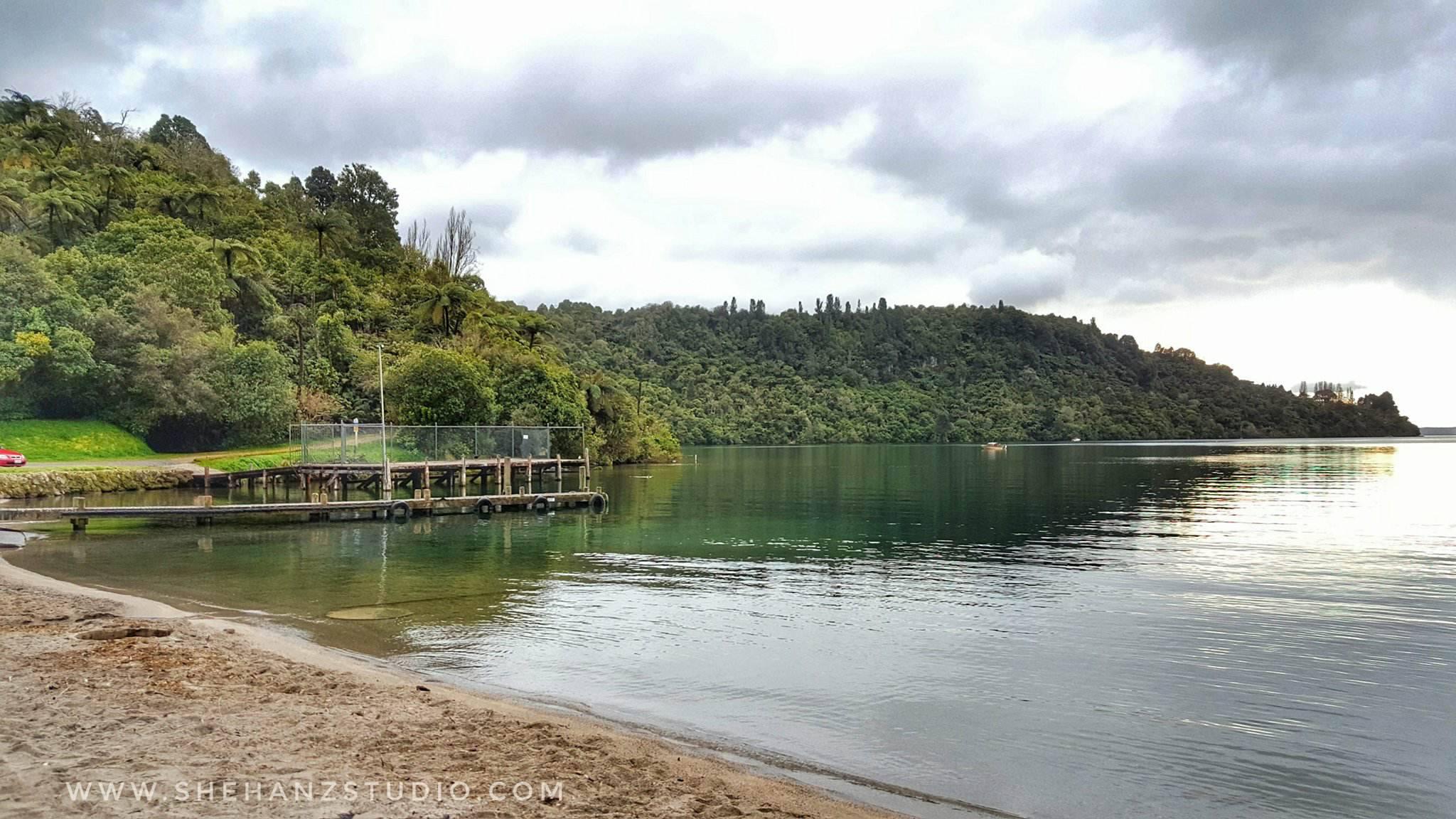 KEMBARA #KBBA9 COSMODERM - IKHLAS TOURS KE NEW ZEALAND BLUE LAKE, TARAWERA, AGRODOME AT ROTORUA (SPRING TIME) (PART 5) (1)