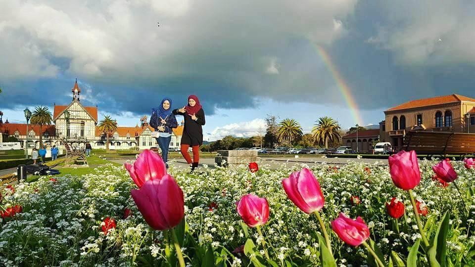 KEMBARA #KBBA9 COSMODERM - IKHLAS TOURS KE NEW ZEALAND | TEMPAT MENARIK DI ROTORUA (SPRING TIME) (PART 4)