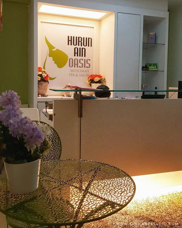 BUAT HAIR CRÈAM BATH DI HURUN AIN OASIS SPA & SALON, TTDI (12)