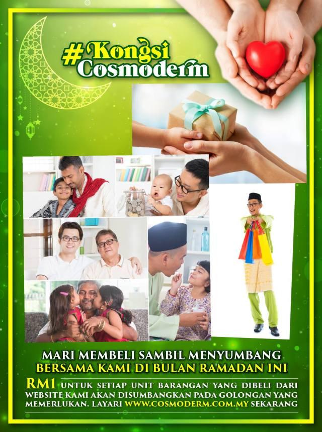 MEMBELI SAMBIL BERAMAL BERSAMA COSMODERM 2