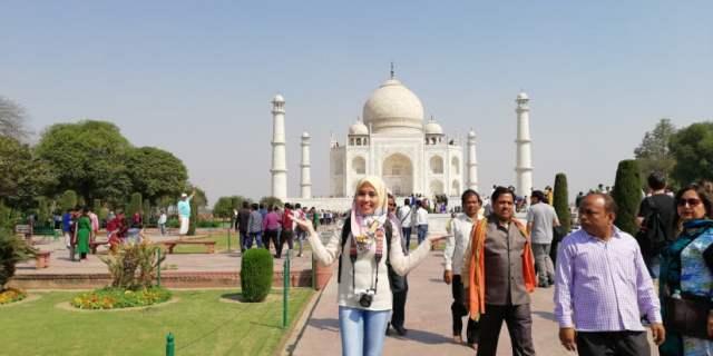 TRIP INDIA CANTIKNYA TAJ MAHAL (150)