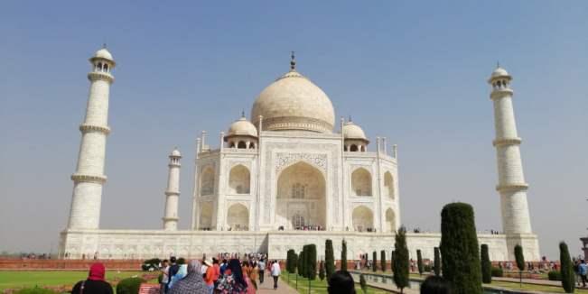 TRIP INDIA CANTIKNYA TAJ MAHAL (201)