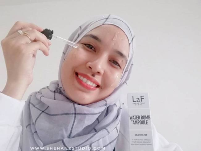 LaF LOST AND FOUND WATER-BOMB AMPOULE - MY FIRST IMPRESSION! (12)