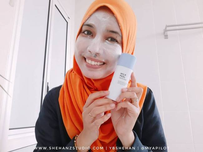 ALTHEA MILK PEEL CREAM MASK REVIEW (2)