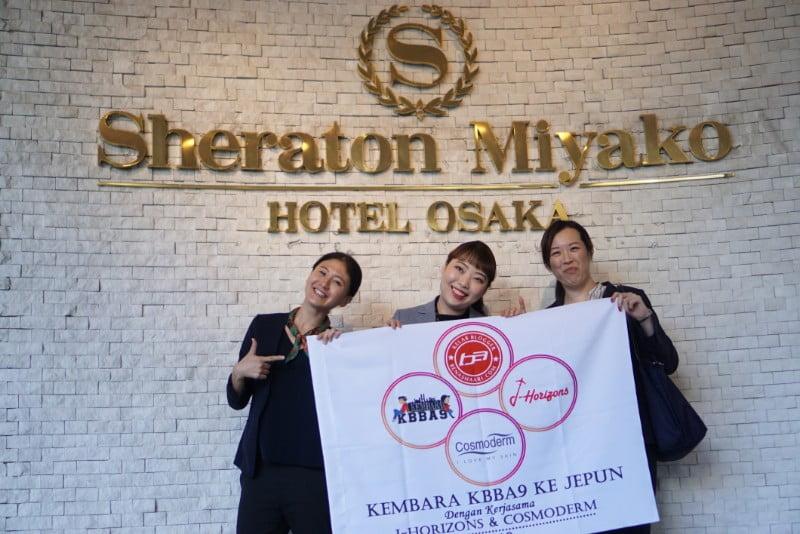 SHERATON MIYAKO HOTEL OSAKA | HOTEL PENGINAPAN STRATEGIK DI OSAKA - PART2 KEMBARA #KBBA9