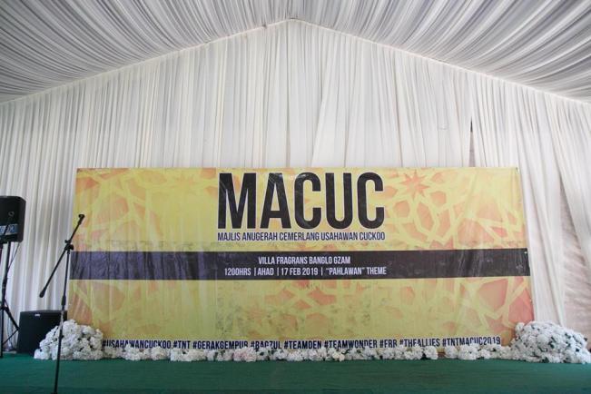 MAJLIS ANUGERAH CEMERLANG USAHAWAN CUCKOO (MACUC) 2019
