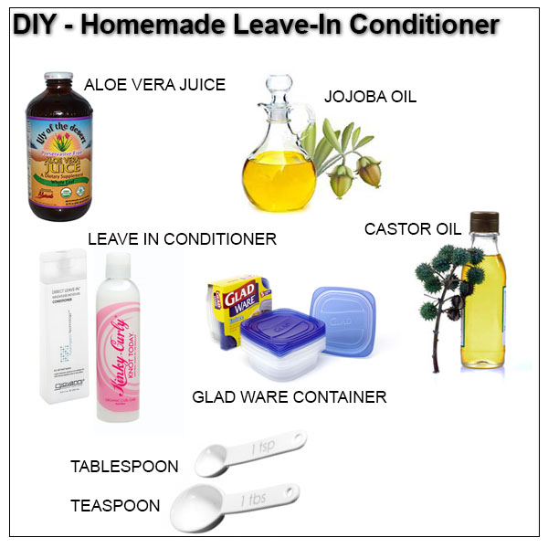 DIY Homemade Leave In Conditioner She Has Gone Curly