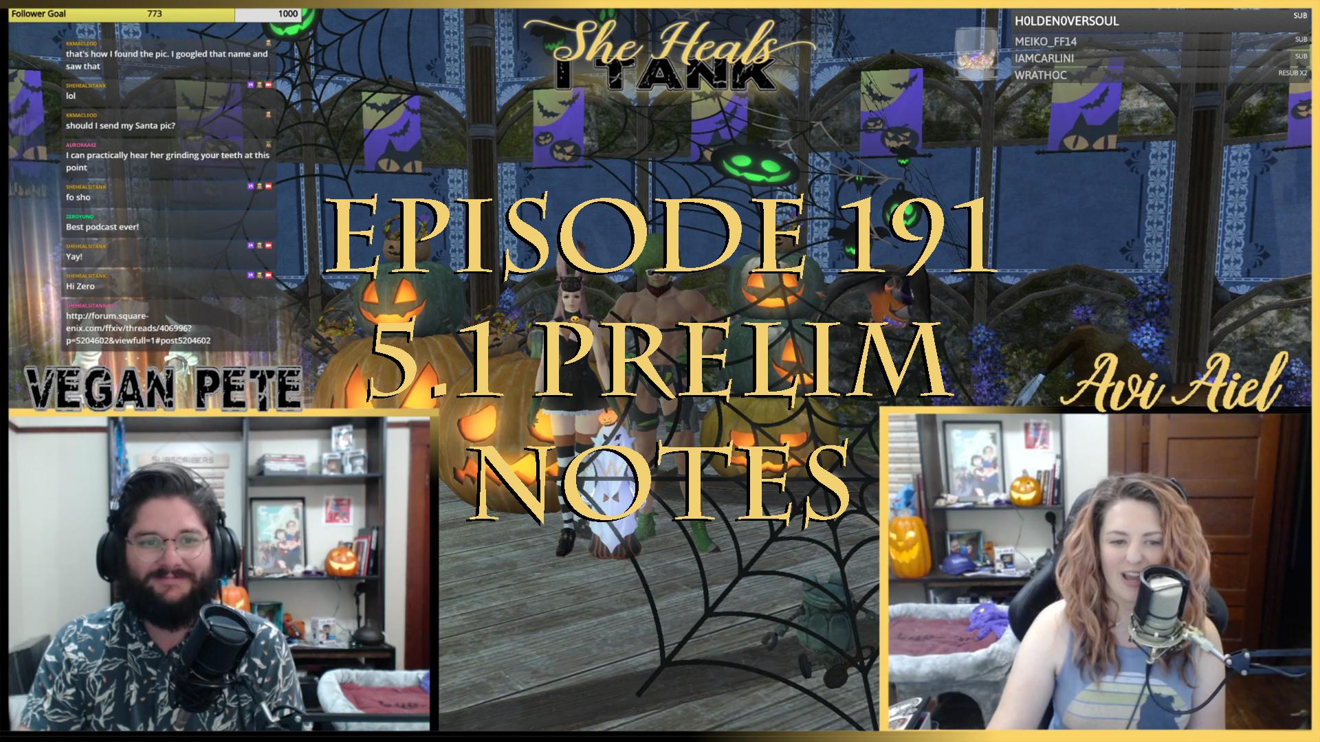 A Weekly Final Fantasy XIV (FFXIV) Podcast - She Heals I Tank