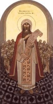 9 القديس كيرلس عمود الدين