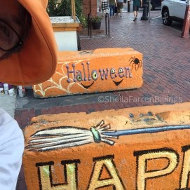 Artists' Row, Salem, MA; more concrete barriers for Haunted Happenings