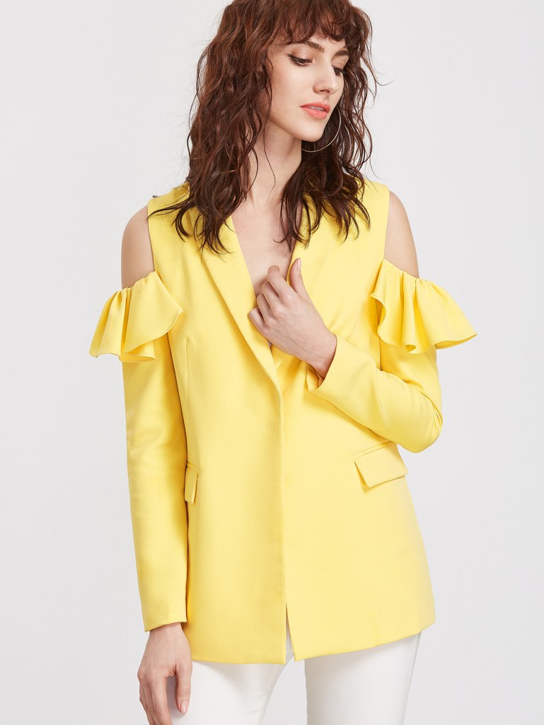 yellow cut out